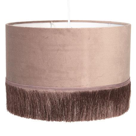 Hanglamp ø 35*25 cm E27/max 1*60W Roze | 6LAK0464P | Clayre & Eef