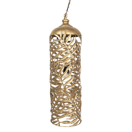 Hanglamp ø 23*76 cm E27/max 1*40W Bruin | 6LMP618 | Clayre & Eef