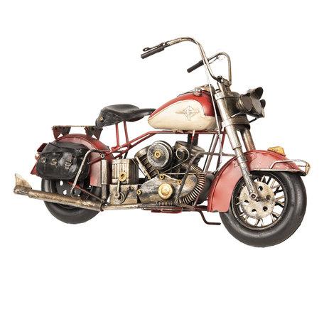 Model motor 42*17*24 cm Rood   MO0024   Clayre & Eef
