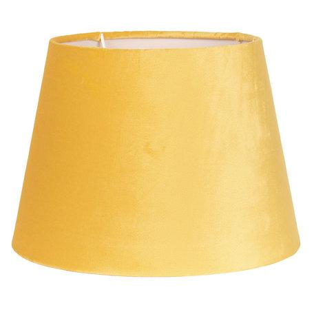 Lampenkap ø 20*15 cm Geel   6LAK0458Y   Clayre & Eef