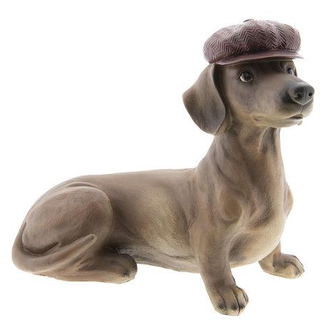 Decoratie hond 35*19*30 cm Multi | 6PR2422 | Clayre & Eef