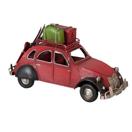 Model auto 26*12*15 cm Rood | 6Y1093 | Clayre & Eef