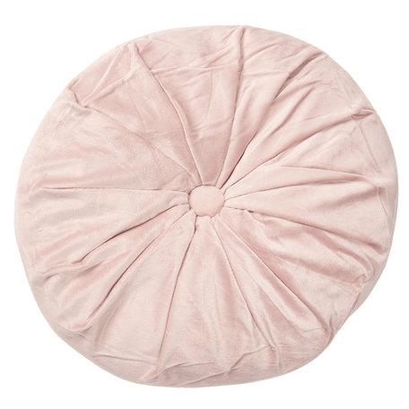 Kussen gevuld ø 38*8 cm Roze | KT033.001P | Clayre & Eef