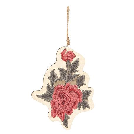 Decoratie hanger 15*14 cm Meerkleurig | 6H1721 | Clayre & Eef