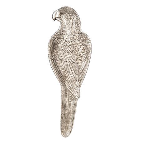 Dienblad vogel 10*2*32 cm Zilverkleurig | 6PR2549 | Clayre & Eef