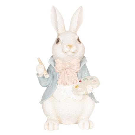 Decoratie konijn 19*19*38 cm Multi | 6PR2604 | Clayre & Eef