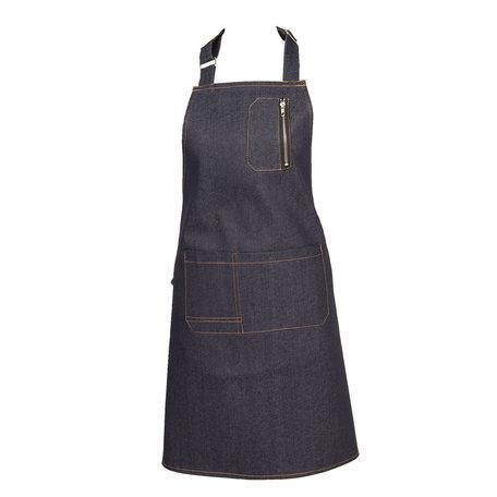 Keukenschort 80*70 cm Blauw | KT041.032 | Clayre & Eef