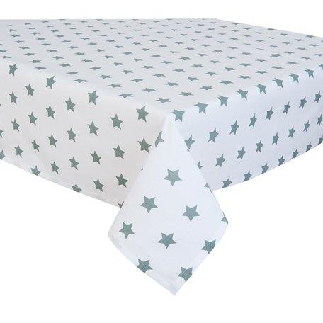 Tafelkleed 150*250 cm Groen-Grijs | CAS05GRG | Clayre & Eef