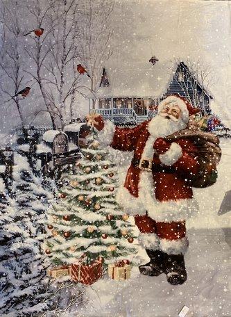 Kerst Plaid 130*170 cm Multi | KT060.090 | Clayre & Eef