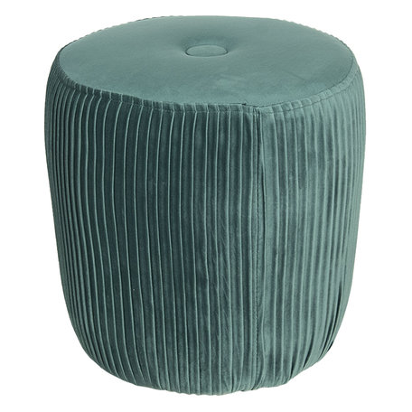 Hocker ø 40*40 cm Groen | 50352GR | Clayre & Eef