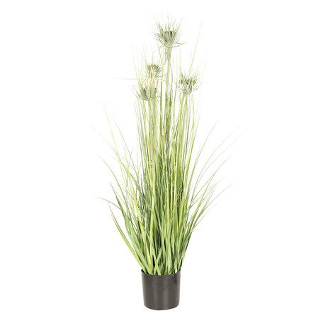 Decoratie kamerplant pluimgras 53*53*90 cm Groen | 5PL0021 | Clayre & Eef