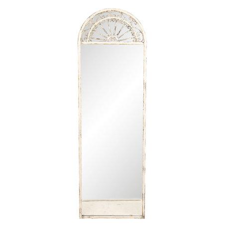 Spiegel 41*3*135 cm Wit   52S174   Clayre & Eef