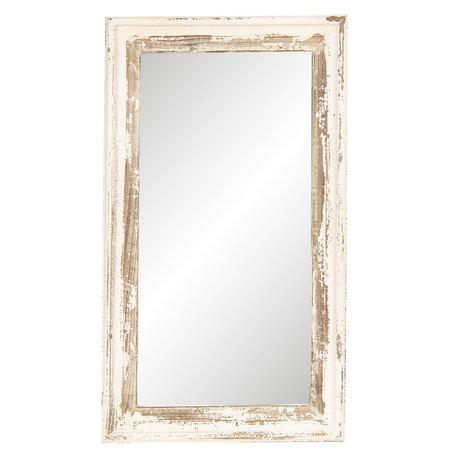 Spiegel 42*3*73 cm Wit | 52S175 | Clayre & Eef