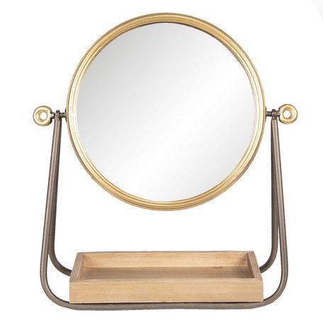 Spiegel 40*14*42 cm Bruin   62S171   Clayre & Eef