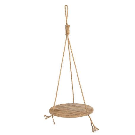 Hangend rek hout ø 40*100 cm Bruin | 6H1788 | Clayre & Eef