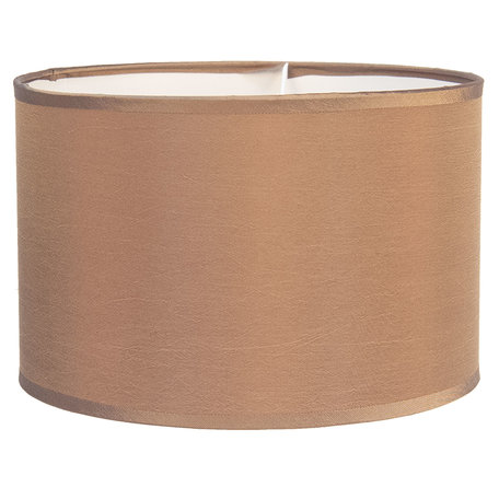 Lampenkap hangend/staand ø 37*20 cm / E27 Beige | 6LAK0471BE | Clayre & Eef