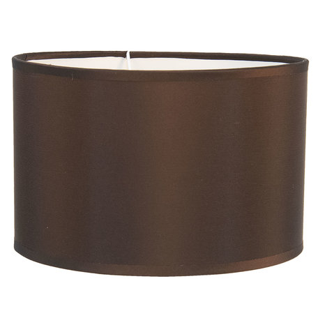 Lampenkap ø 37*20 cm / E27 Bruin | 6LAK0471P | Clayre & Eef