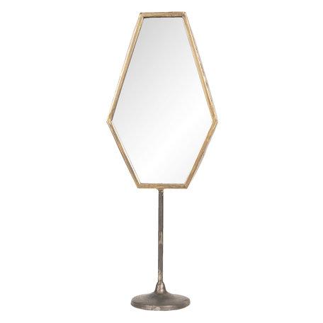 Spiegel 16*9*45 cm Bruin   62S170   Clayre & Eef