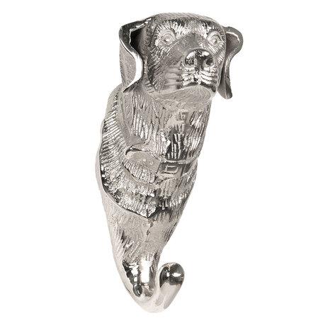 Wandhaak 10*8*19 cm Zilverkleurig | 6AL0003 | Clayre & Eef