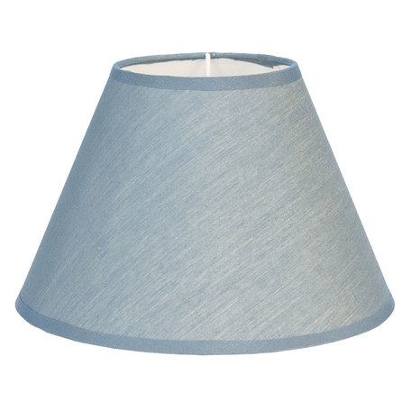 Lampenkap ø 37*20 cm Blauw | 6LAK0467BL | Clayre & Eef
