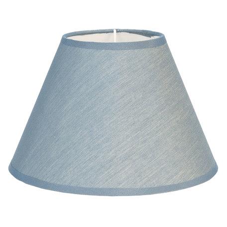 Lampenkap ø 19*12 cm Blauw | 6LAK0469BL | Clayre & Eef