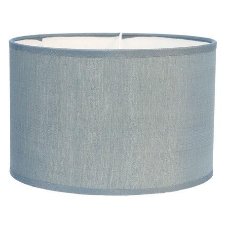 Lampenkap ø 19*12 cm Blauw | 6LAK0473BL | Clayre & Eef