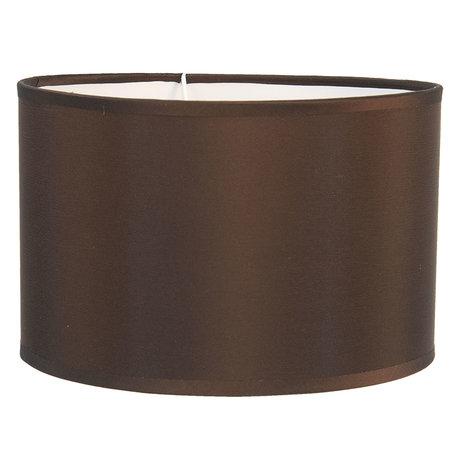 Lampenkap ø 19*12 cm / E27 Bruin | 6LAK0473P | Clayre & Eef