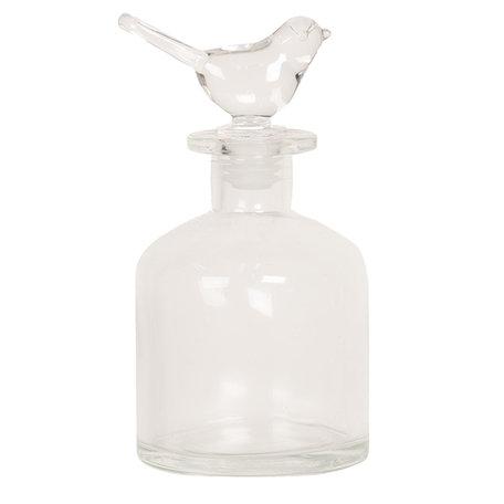 2 STUKS Parfumflesje ø 8*15 cm / 0.25L Transparant | 6GL2533 | Clayre & Eef