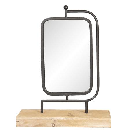 Tafelspiegel 35*12*45 cm Bruin   62S165   Clayre & Eef