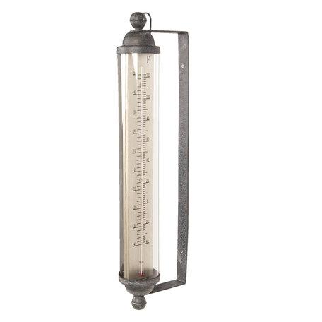 Thermometer 15*8*57 cm Zwart | 64305 | Clayre & Eef