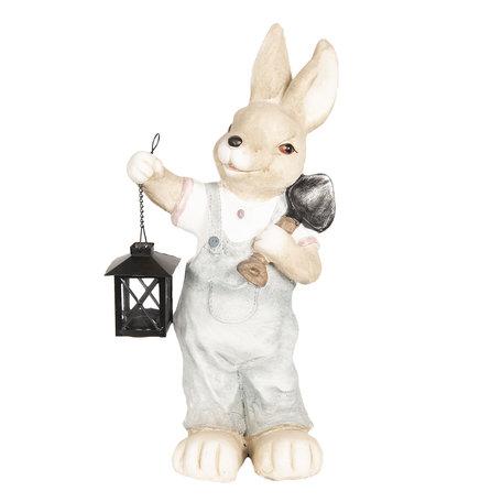 Decoratie konijn 22*18*48 cm Meerkleurig | 6TE0259 | Clayre & Eef