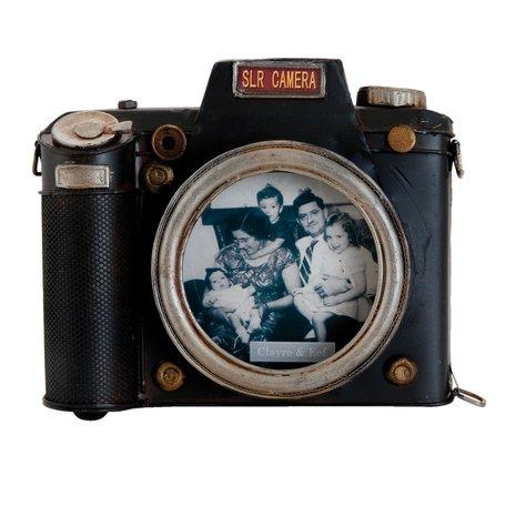 Fotolijst 18*4*15 cm / 11*11 cm Bruin | 6Y1722 | Clayre & Eef