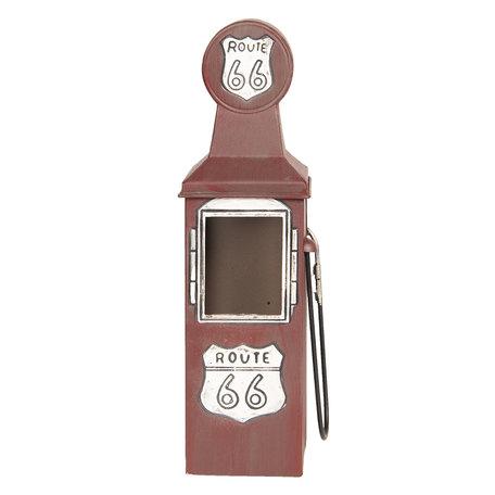Flessenhouder 10*10*34 cm Rood | 6Y3372 | Clayre & Eef
