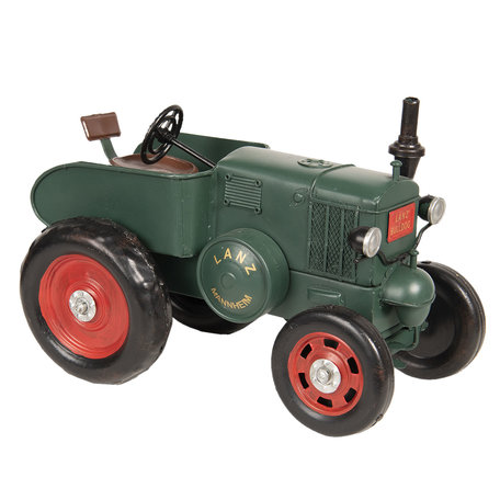 Lanz tractor model licentie 28*17*19 cm Groen | 6Y3431 | Clayre & Eef
