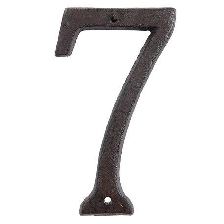 Nummer (7) 15 cm Bruin | 6Y0264-7 | Clayre & Eef