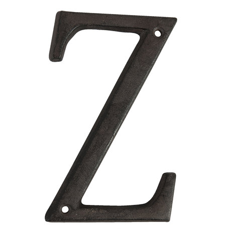 Letter Z 13 cm Bruin | 6Y0840-Z | Clayre & Eef