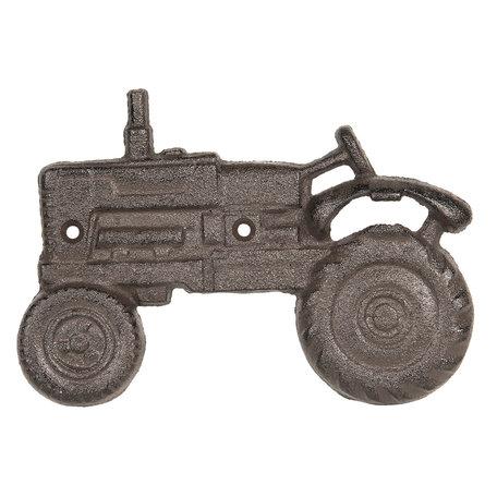 Flessenopener tractor 20*2*14 cm Bruin | 6Y3299 | Clayre & Eef