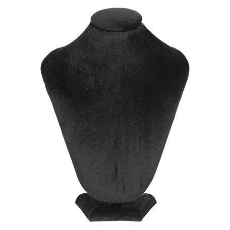 Sieraden display 21*14*30 cm Zwart | MLDS0054Z | Clayre & Eef