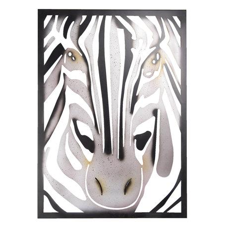 Wanddecoratie 55*3*76 cm Grijs | 5Y0687 | Clayre & Eef