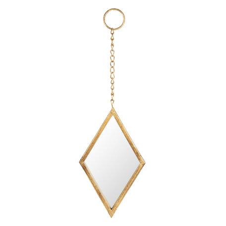 Spiegel 18*2*28 cm Goudkleurig | 62S154 | Clayre & Eef