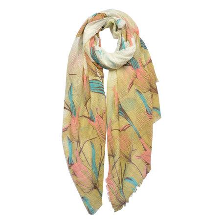Sjaal 90*180 cm Meerkleurig | JZSC0437Y | Clayre & Eef