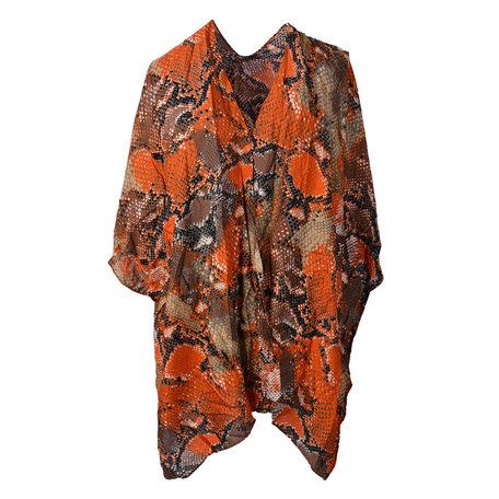 Tuniek met tas Volwassenen Oranje   JZCAB0001   Clayre & Eef