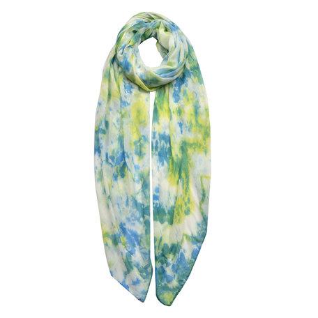 Sjaal 70*180 cm Groen | JZSC0424GR | Clayre & Eef