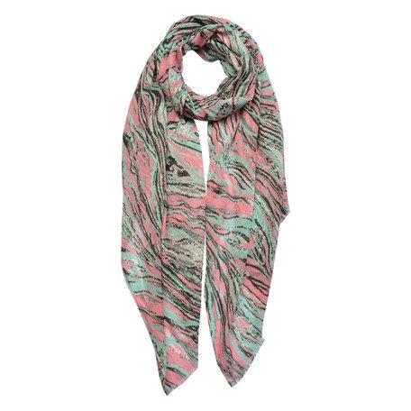 Sjaal 100*180 cm Roze | JZSC0429P | Clayre & Eef