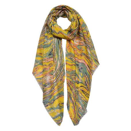 Sjaal 100*180 cm Geel | JZSC0429Y | Clayre & Eef