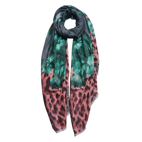Sjaal 70*180 cm Grijs | JZSC0430G | Clayre & Eef