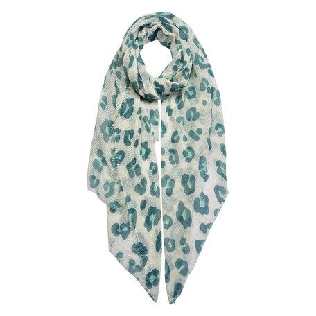 Sjaal 90*180 cm Groen | JZSC0439GR | Clayre & Eef