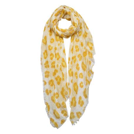 Sjaal 90*180 cm Geel | JZSC0439Y | Clayre & Eef