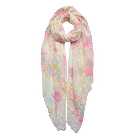 Sjaal 90*180 cm Roze | JZSC0445 | Clayre & Eef
