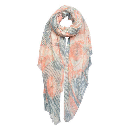 Sjaal 90*180 cm Roze | JZSC0447 | Clayre & Eef